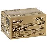 Mitsubishi Electric CK-D757 Color Blanco - Papel fotográfico (Color Blanco, 5' x 7', 460 Hojas, 127 x 178 mm)