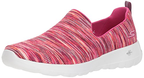 Skechers Performance Women's Go Walk Joy-15615 Sneaker,pink/multi,10 M US