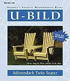 U-Bild 938 2 U-Bild 2 Adirondack Twin Seater Project Plan