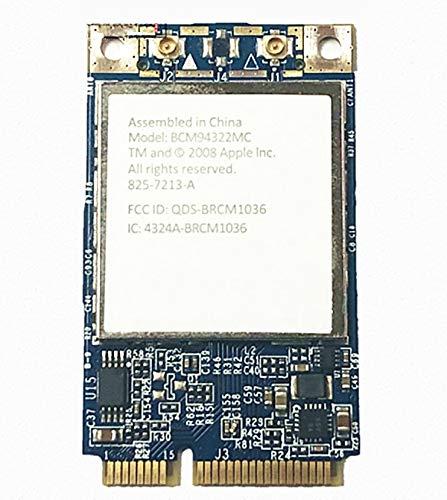 for Apple Broadcom BCM94322MC 4322 AGN 802.11 a/g/n 300Mbps Wireless-N WiFi PCI-E Mini WLAN Card Support Mac Laptop Notebook