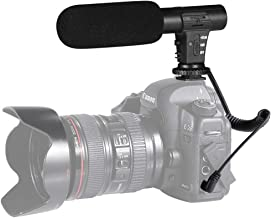 Camera Microphone, Video Microphone for Canon, Sony, Nikon, DSLR Camera/DV, Photography Interview Microphone with 3.5mm Interface (Except for Canon T5i,T6)