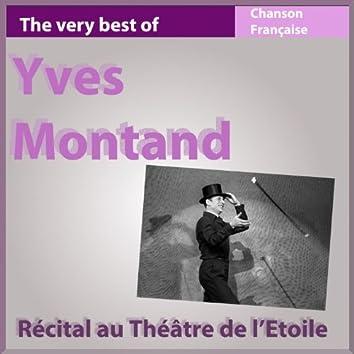 Récital au Théâtre de l'Etoile 1953 (The Very Best of Chanson française Live)