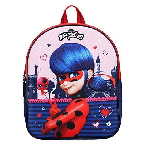 Miraculous Kinderrucksack - Ladybug - Rot und Blau