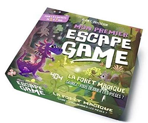 Mon premier escape game : La Forêt magique - Escape game enfant de 2 à 5 joueurs - De 5 à 7 ans