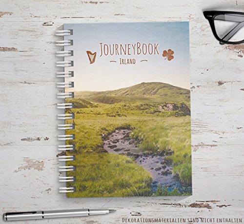 Reisetagebuch Irland zum selberschreiben/als Abschiedsgeschenk