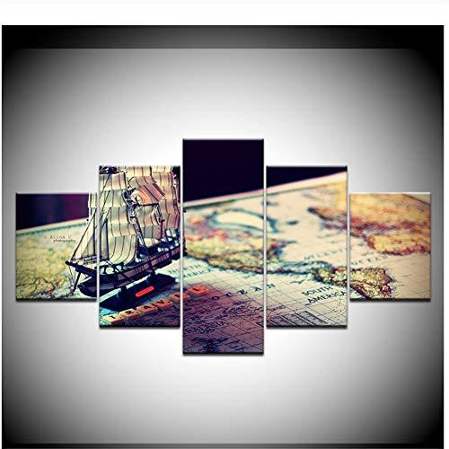 Música CD Grabar HD Imprimir Lienzo Arte Pintura Decoración para el...
