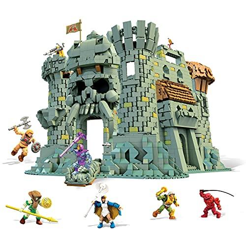 Mega Construx Masters of the Universe, Castello del Teschio, con 3508 pezzi, Giocattolo per Bambini 14+ Anni, GGJ67