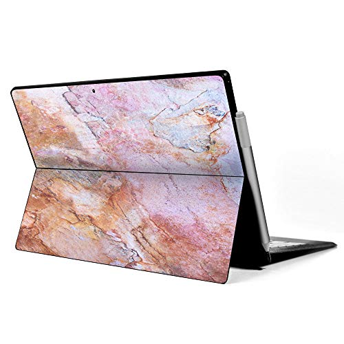 IT'S A SKIN Microsoft Surface Pro 6 (fits most older models) Decal Vinyl Wrap   Rose Peach Pink Marble Pattern