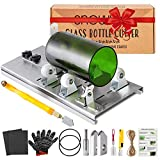 Glass Bottle Cutter Kit, Bottle Cutter DIY Machine for Cutting Round, Square,...