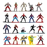 Jada Toys Marvel 253225006 Lot de 20 Figurines Nano Vague 2 4 cm