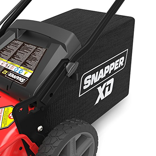 Snapper XD 82V MAX Cordless Electric 21 Inch Push Lawn Mower, 2 Batteries and Rapid Charger