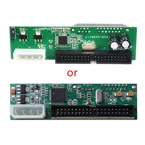 SUCHUANGUANG Adaptador de Disco Duro Pata IDE a Sata 3,5 HDD a Serial ATA Convertir Tarjeta adaptadora convertidora SATA