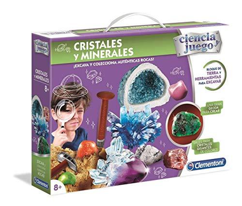 Clementoni Ciencia y Juego- Cristales y Minerales (55349)