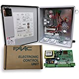 FAAC 455D (115V) Control Panel with Circuit Board, Remote Control, Receiver Full Kit