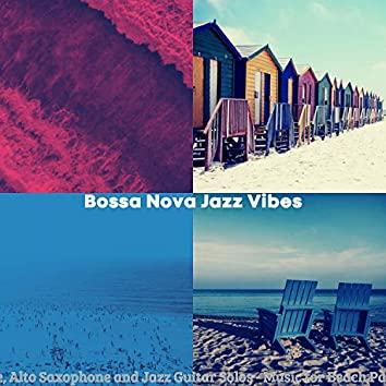 Flute, Alto Saxophone and Jazz Guitar Solos - Music for Beach Parties