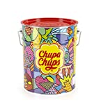 Chupa Chups Pot Métal De 150 Sucettes Best Of...