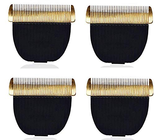 BARK N BITES Trimmer Blade for Showmate Horse and Dog Trimmer Professional Grooming Pet Hair Clipper, Cat Dog Accessory for All Pets Trimmer (Pack of 4)