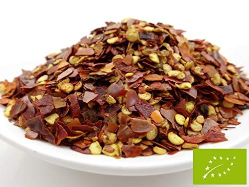 pikantum Bio Chiliflocken | 1kg | fruchtig scharf | Chili für die Mühle | für Chili con Carne, Salsa, Gulasch, ...