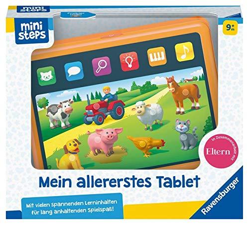 Ravensburger ministeps 04164 Mein allererstes Tablet, Grey