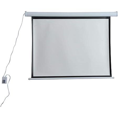 Schermo di Proiezione 120 Pollici Motorizzato Home Cinema Bianco Benzoni