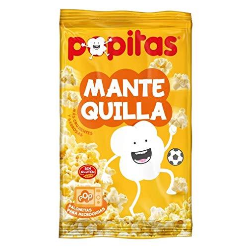 Popitas Mantequilla - Palomitas Microondas sabor mantequilla - Pack 5 * 100 gramos
