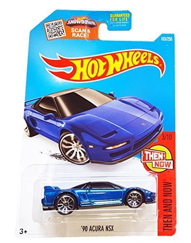 Hot Wheels 2016 Then and Now '90 Acura NSX 103/250, Blue