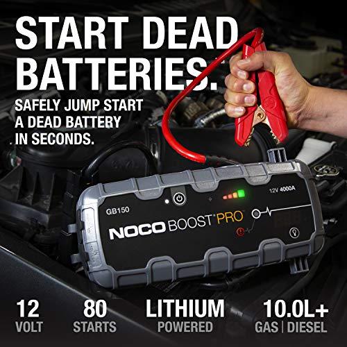 NOCO BATTERY COMPANY Boost Pro 4000a Jump Starter NKGB150
