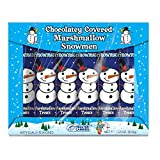 Chocolatey Covered Marshmallow Snowmen