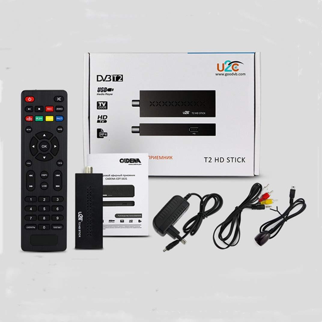 Digital HD TV Registrador del Receptor del sintonizador Set Top Box USB de Memoria del Registrador de Colgar for televisores LCD: Amazon.es: Electrónica