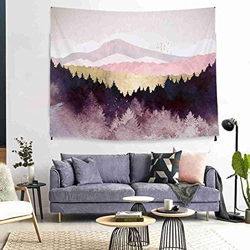 Kseyic Tapiz de pared multicolor con diseño de mandala psicodélico, luna y sol, impresión 3D, tela india, arte de pared, dormitorio o salón (8,150 x 200 cm)