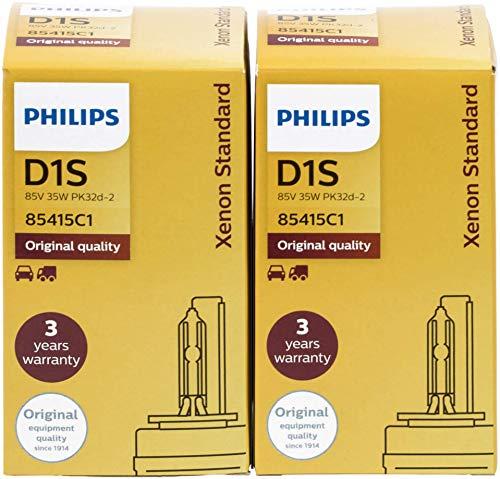 2 x D1S xenStart standard pHILIPS 85410 ampoule au xénon
