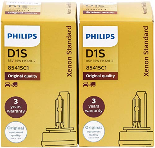 2x PHILIPS D1S 85410+ XenStart Standard Xenon Brenner