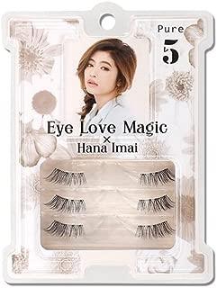 Japan Eyelash Extensions 3 Pairs Pure Eye Love Magic Hana Imai Produce From Japan Cosmetics