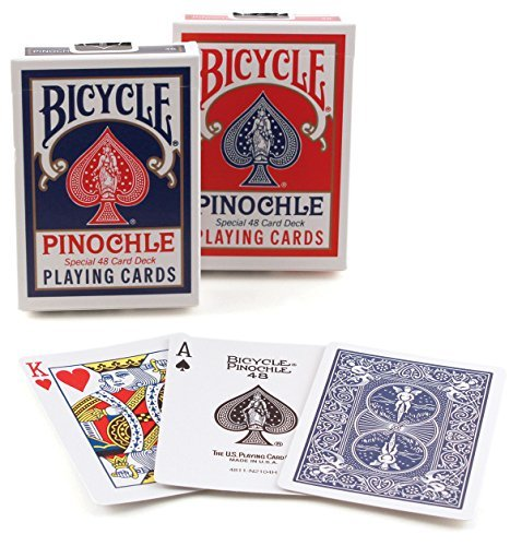 Jeu Bicycle Pinochle-Formato: Poker-Index : 2/regular por Cartes Production / Poker Production