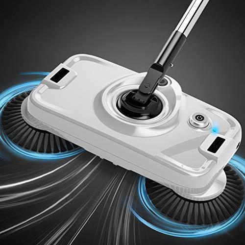 QWE Barredora eléctrica Empuje Manual Trapear el artefacto del Piso Una máquina Trapeador doméstico Robot eléctrico Aspirador Barredora de Polvo de Barrido Set para la Cocina del Piso del hogar