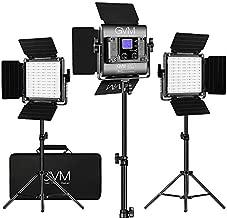 GVM RGB LED Video Lighting Kit, 800D Studio Video Lights with APP Control, Video Lighting Kit for YouTube Photography Lighting, 3 Packs Led Light Panel, 3200K-5600K, 8 Kinds of The Scene Lights