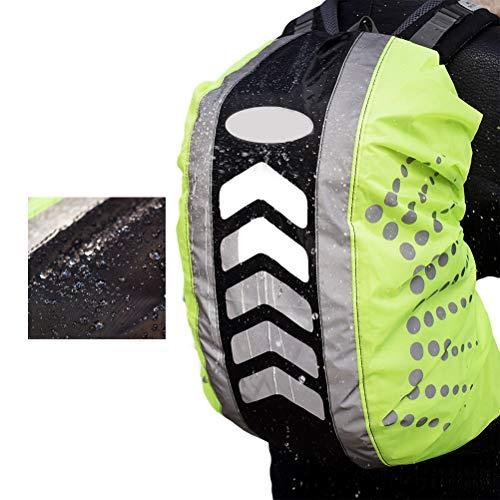 CaCaCook Regenhülle Rucksack,Wasserfester Regenschutz mit Reflexstreifen,Regenschutz für Schulranzen Schulrucksack Ranzen, Regenschutzhülle, Rucksackschutz für Outdoor Camping Wandern(30-40L)