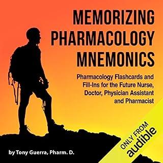 Memorizing Pharmacology Mnemonics audiobook cover art