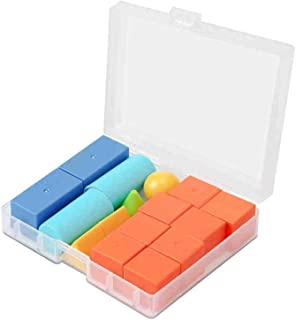 Geometric Plastic Shapes Miniature Set,Help children to recognize three dimensional geometric figures,Montessori Classroom...