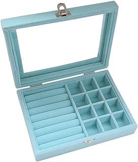 Velvet Jewelry Box, 8x15cm, Tiffany