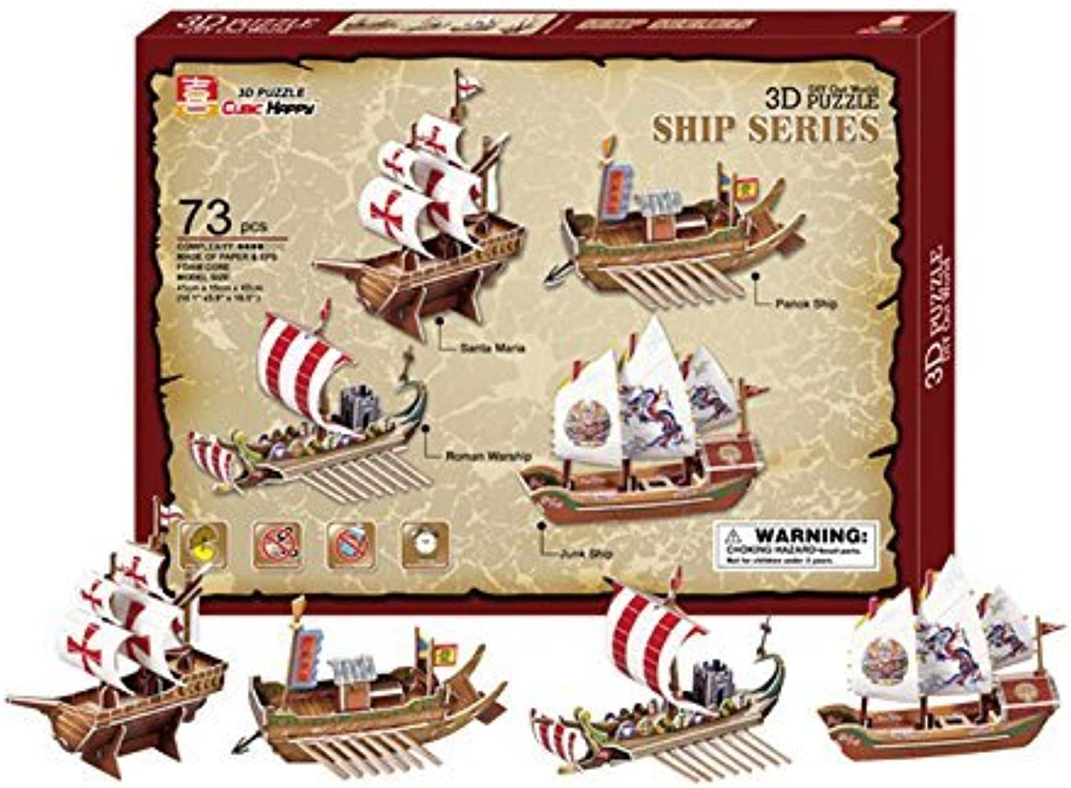 3D Ships by small foot company