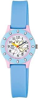 Q&Qfor Kids White Dial Resin Band Watch Vq13J008Y, Analog Display