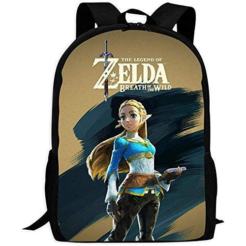 Rucksäcke Taschen Daypacks Wanderrucksäcke, Rucksack,Zel-Da Legend Art | Comfortable & Light School Bags Multiple Pockets Backpack for Kids/Youth/Boys/Girls