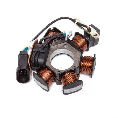 Lichtmaschine (Zündung) Maxtuned, ohne Rotor für Piaggio (ab Bj. 1999)
