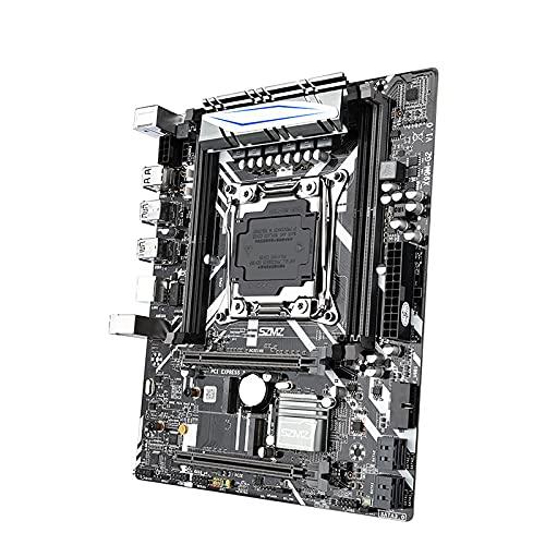 SZMZ X99 placa base dual canales con NVME SSD M.2 WIFI-M2 USB 3.0 soporte E5 2678V3 E5 2620V3 E5 2650V3