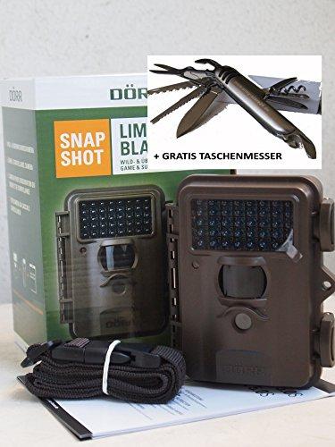 Wildkamera - Überwachungskamera Snapshot Limited Black 5.0S Dörr
