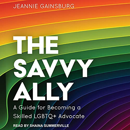The Savvy Ally Audiobook By Jeannie Gainsburg cover art