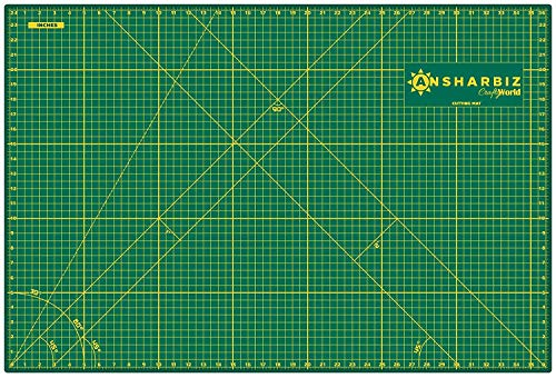 Cutting Mat for Sewing amp Crafts  24x36inches Sturdy Rotary Cutting Mat w/ Self Healing Non Slip Surface  Perfect Craft Fabric Cutting Board for Quilting amp Sewing  Large Double Sided Mats