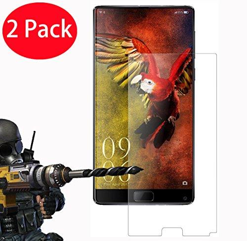 FoneExpert® 2 Pack - Elephone S8 Verre Trempé, Vitre Protection Film de Protecteur d'écran Glass Film Tempered Glass Screen Protector pour Elephone S8