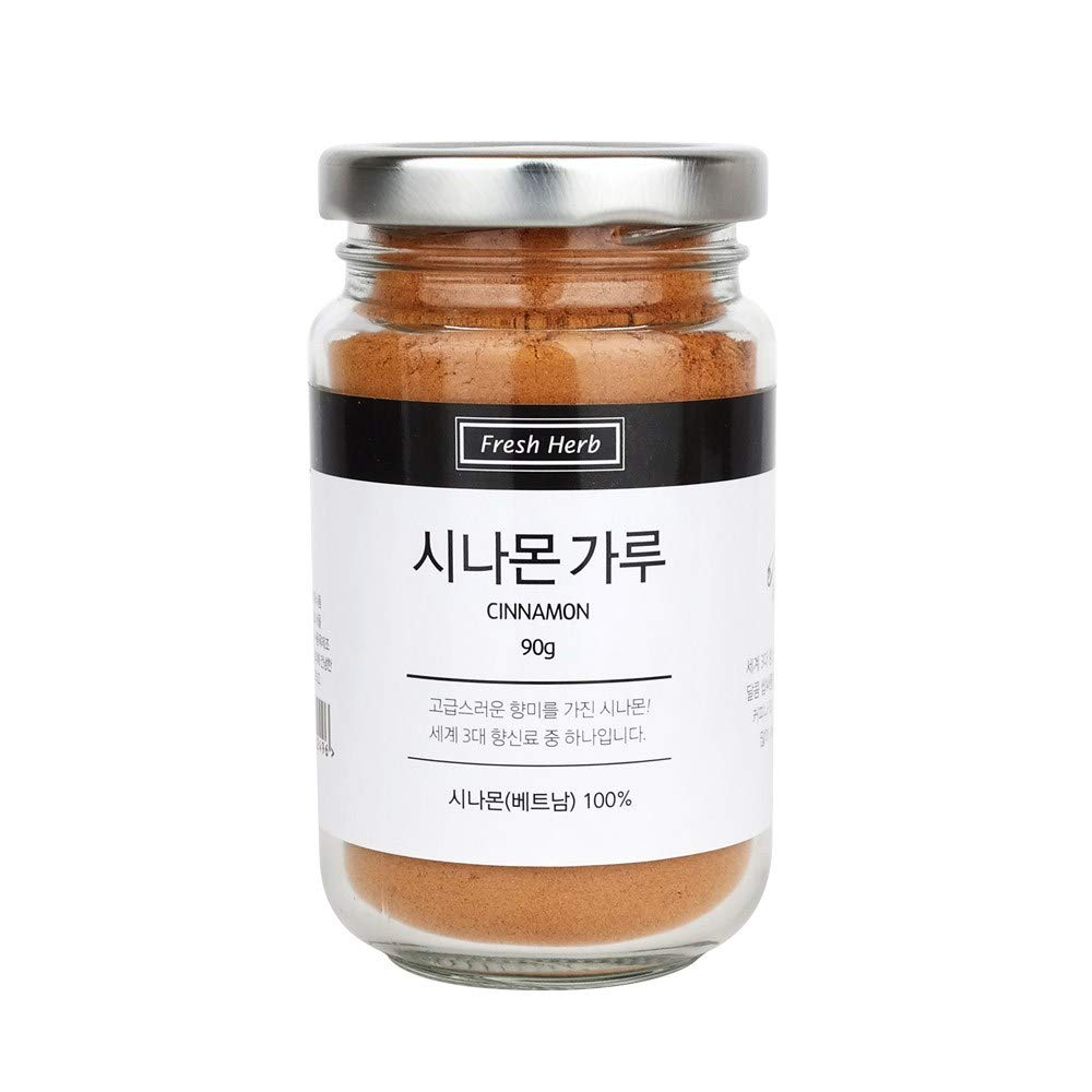 Sinsunherb Cinnamon Powder | 90g | 1 Bottle, 100% Natural Fresh